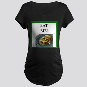 tacos Maternity T-Shirt