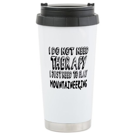 I Just Need To Pl 16 oz Stainless Steel Travel Mug