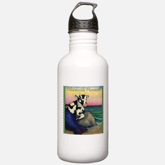 TillMooTee.jpg Water Bottle
