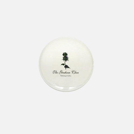 Cute Graham Mini Button
