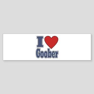 I Love Goober Bumper Sticker