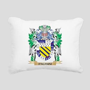 Paganini Coat of Arms - Rectangular Canvas Pillow