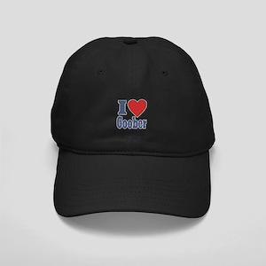 I Love Goober Black Cap