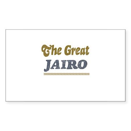 Jairo Rectangle Sticker