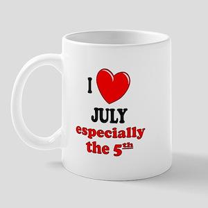 July 5th Mug
