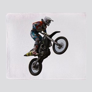 Enduro freestyle Throw Blanket