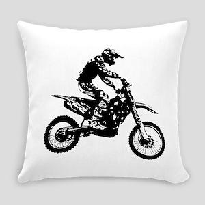 Enduro black Everyday Pillow