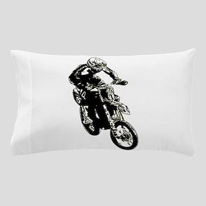 Motocross action Pillow Case