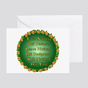 Nature Preservation Greeting Card