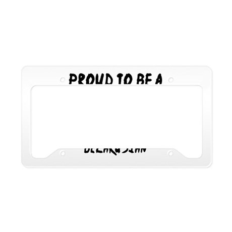 Proud To Be Belarusian License Plate Holder