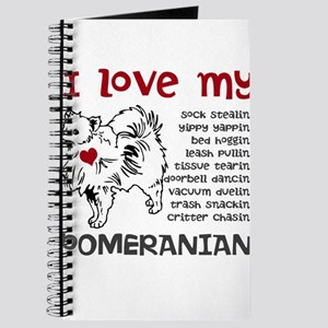 I love my my face pom Journal