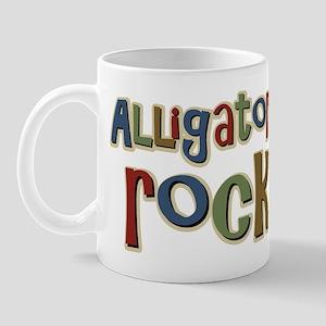 Alligators Rock Gator Reptile Mug