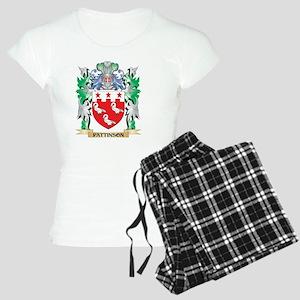 Pattinson Coat of Arms - Fa Women's Light Pajamas