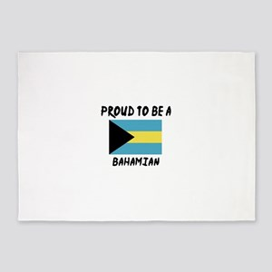 Proud To Be Bahamian 5'x7'Area Rug