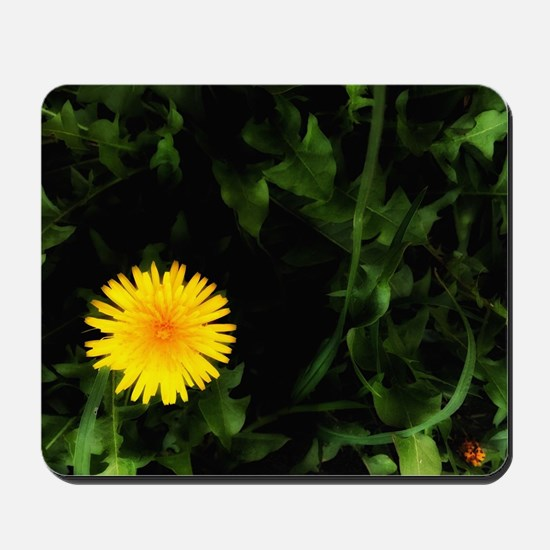 Single Yellow One Mousepad