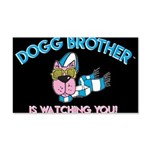 Dogg Brother 20x12 Wall Decal