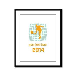 Cool Sport Tennis Framed Panel Print