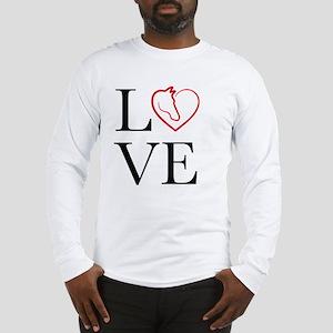 I Love horse riding Long Sleeve T-Shirt