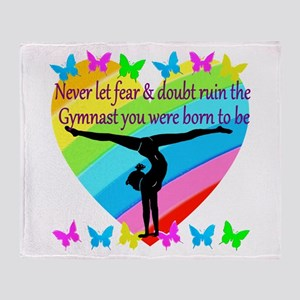 GYMNAST GOALS Throw Blanket