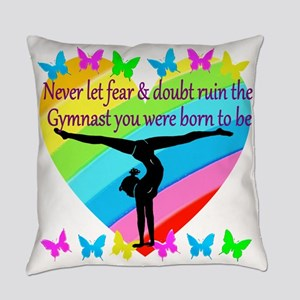 GYMNAST GOALS Everyday Pillow