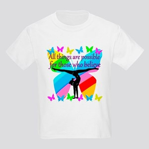 GYMNAST GOALS Kids Light T-Shirt