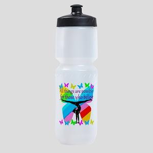 GYMNAST GOALS Sports Bottle