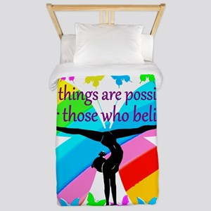 GYMNAST GOALS Twin Duvet
