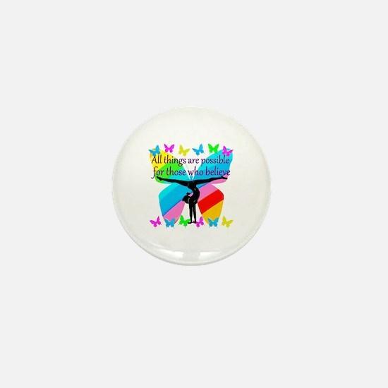 GYMNAST GOALS Mini Button