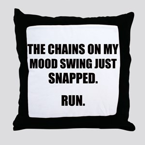MOOD SWING Throw Pillow