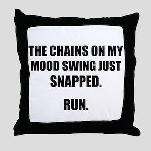 MOOD SWING Throw Pillow