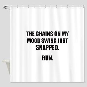 MOOD SWING Shower Curtain