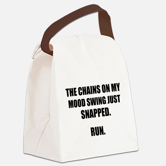 MOOD SWING Canvas Lunch Bag