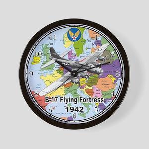 B-17 Flying Fortress WW2 Wall Clock