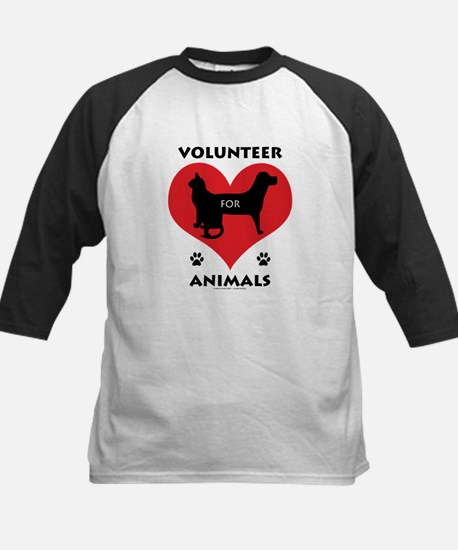 Volunteer for Animals Baseball Jersey