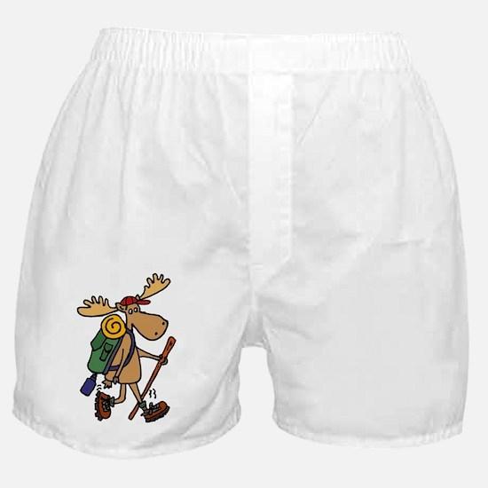 Cute Moose Boxer Shorts