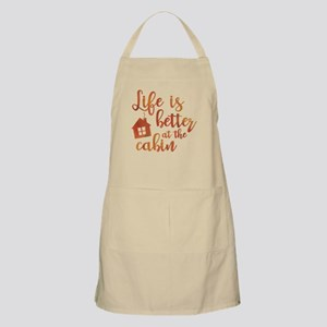 Life's Better Cabin Apron