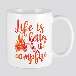 Life's Better Campfire Mug