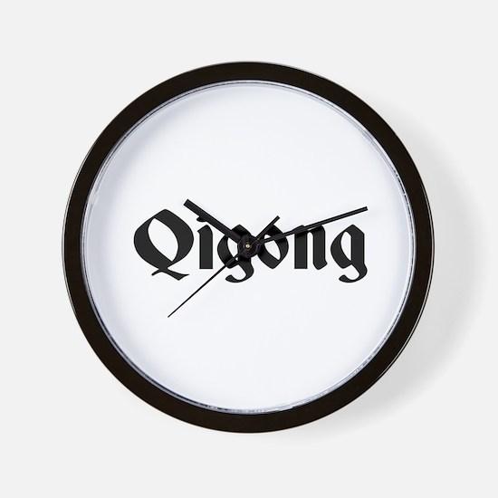 Qigong Wall Clock