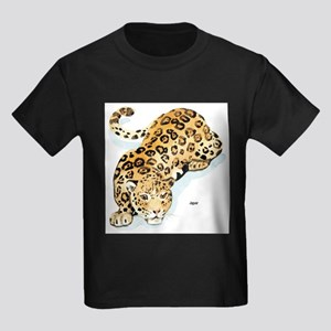 Jaguar Wild Cat Ash Grey T-Shirt