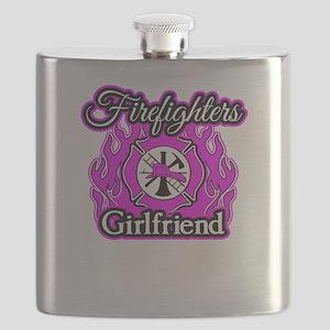 Firefighters Girlfriend Flask