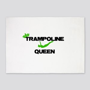 Trampoline Queen 5'x7'Area Rug