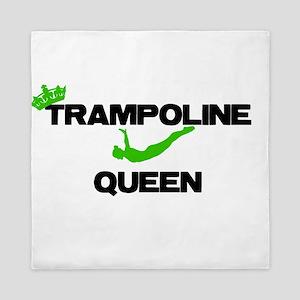 Trampoline Queen Queen Duvet