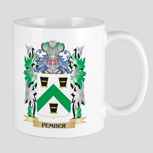 Pember Coat of Arms - Family Crest Mugs