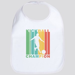 Retro Kickball Champion Bib