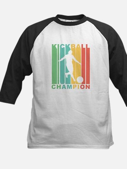 Retro Kickball Champion Baseball Jersey