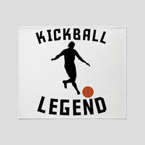 Kickball Legend Throw Blanket
