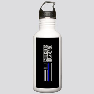 Police: Proud Husband Stainless Water Bottle 1.0L