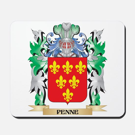 Penne Coat of Arms - Family Crest Mousepad