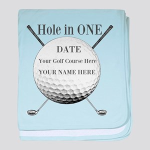 Hole In One baby blanket
