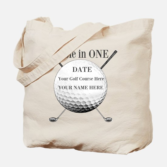 Hole In One Tote Bag